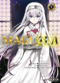 Magdala, alchemist path  T1, manga chez Ototo de Hasekura, Nabeshima, Arisaka