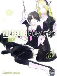 Yozakura quartet T10, manga chez Pika de Suzuhito