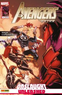 Avengers Extra T11 : La colère d'Onslaught (0), comics chez Panini Comics de McKeever, Andrade, Sotomayor, Tercio, Ramos