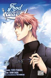 Food wars  T27, manga chez Delcourt Tonkam de Tsukuda, Saeki