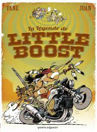 La Légende de Little Boost, bd chez Vents d'Ouest de Fane, Juan