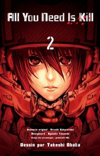 All you need is kill T2, manga chez Kazé manga de Takeuchi, Sakurazaka, Abe, Obata