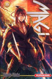 Magi, the labyrinth of magic  T16, manga chez Kurokawa de Ohtaka