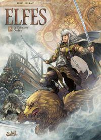 Elfes – cycle Les elfes blancs, T8 : La dernière ombre (0), bd chez Soleil de Peru, Bileau, Merli