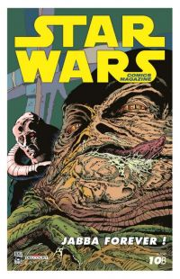Star Wars (revue) – Comics Magazine, T10 : Luke face aux serpents dragons !  (0), comics chez Delcourt de Taylor, Woodring, Wagner, Wetherell, Daxiong, Gibson, McNamee, Sheldon, Kennedy