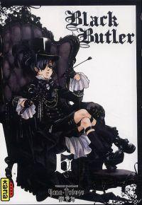 Black butler T6, manga chez Kana de Toboso