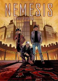 Nemesis – cycle 1, T1 : Level eleven (0), bd chez Soleil de Ange, Janolle