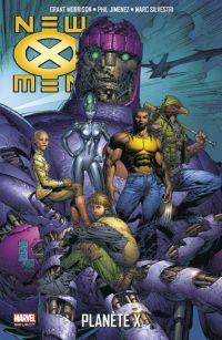 New X-Men T4 : Planète X (0), comics chez Panini Comics de Morrison, Jimenez, Silvestri, Sotelo, Tan, Chuckry, Basualda, Starr, Lanning, Firchow, Buccellato, Milla, d' Armata
