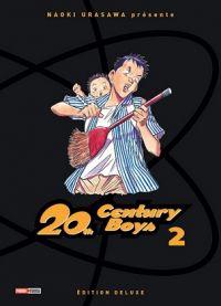 20th Century Boys – Edition deluxe, T2, manga chez Panini Comics de Urasawa