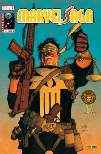Marvel Saga T3 : Le procès du Punisher (0), comics chez Panini Comics de Huston, Guggenheim, Yu, Martinbrough, Suayan, Loughridge, Gho