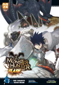 Monster hunter flash T6, manga chez Kazé manga de Yamamoto, Hikami