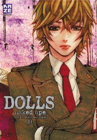 Dolls T10, manga chez Kazé manga de Naked ape, Lira Kotone, Nakamura