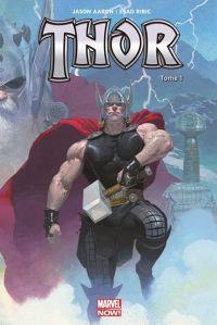 Thor T1 : Le massacreur de Dieux (0), comics chez Panini Comics de Aaron, Ribic, Svorcina