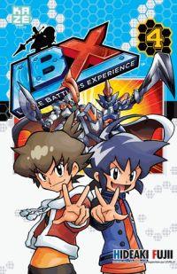 LBX Little Battlers Experience T4, manga chez Kazé manga de Fujii