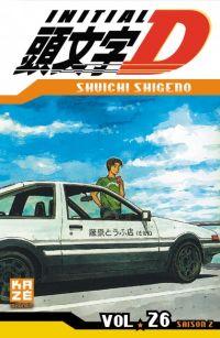 Initial D T26, manga chez Kazé manga de Shigeno