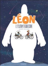 Léon l'extraterrestre, bd chez Sarbacane de Stygryt, Valls