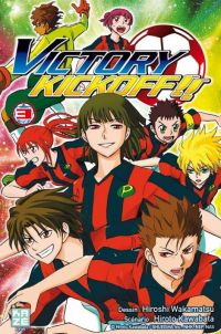 Victory kickoff  T3, manga chez Kazé manga de Kawabata, Wakamatsu
