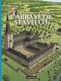 Les Voyages de Jhen : L'abbaye de Stavelot, bd chez Casterman de Venanzi, Barthélemy