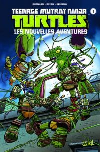 Teenage Mutant Ninja Turtles T1 : Les nouvelles aventures (0), comics chez Soleil de Burnham, Byerly, Brizuela, Breckel, Pattison