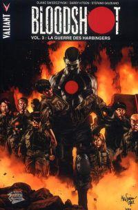 Bloodshot – édition librairie, T3 : La guerre des Harbingers (0), comics chez Panini Comics de Swierczynski, Crain, Kitson, Gaudiano, Reber, Suayan