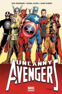 Uncanny Avengers T2 : Ragnarok Now ! (1) (0), comics chez Panini Comics de Duggan, Remender, Acuña, Kubert, Martin jr, Cassaday