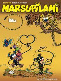 Marsupilami T28 : Biba, bd chez Marsu Productions de Colman, Batem, Cerise