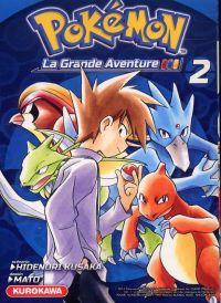 Pokémon la grande aventure  T2, manga chez Kurokawa de Kusaka, Mato