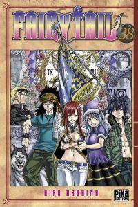 Fairy Tail T38, manga chez Pika de Mashima