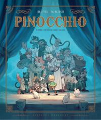 Pinocchio, bd chez Delcourt de Chauvel, McBurnie
