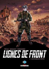 Lignes de front T4 : Les Diables verts (0), bd chez Delcourt de Pécau, Nenadov, Fernandez