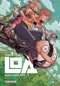 Loa T1, manga chez Delcourt de Stey