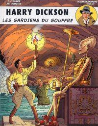 Harry Dickson T9 : Les gardiens du gouffre (0), bd chez Art et BD de Vanderhaegen, Zanon, Chapelle, Léonardo
