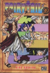 Fairy Tail T39, manga chez Pika de Mashima