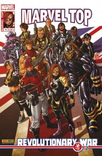 Marvel Top T14 : Revolutionnary War (1/2) (0), comics chez Panini Comics de Abnett, Brooks