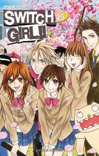 Switch girl  T25, manga chez Delcourt de Aida
