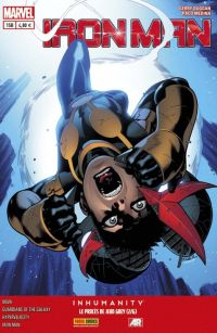 Iron Man (revue) – V 2, T15 : Le procès de Jean Grey (2/6) (0), comics chez Panini Comics de Warren, Bendis, Gillen, Duggan, Medina, Denham, Padilla, Pichelli, Curiel, Ponsor, Guru efx