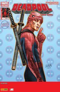 Deadpool (revue) – Hors série, T1 : Spideypool (0), comics chez Panini Comics de Posehn, Acker, Duggan, Blacker, Shaner, Camagni, Koblish, Staples, Gandini, Milla, Nakayama