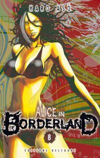 Alice in borderland T8, manga chez Delcourt de Haro