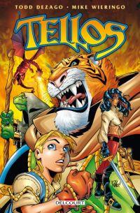 Tellos, comics chez Delcourt de Dezago, Wieringo, Mounts