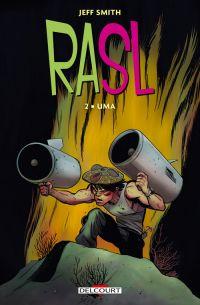 Rasl T2 : Uma (0), comics chez Delcourt de Smith, Hamaker
