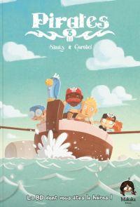 Pirates - Journal d'un héros T3, bd chez Makaka éditions de Shuky, Gorobei