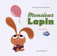 Monsieur Lapin T3 : les ballons (0), bd chez Des ronds dans l'O de Dauvillier, Amsallem