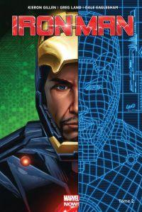 Iron Man T2 : Les origines secrètes de Tony Stark 1/2 (0), comics chez Panini Comics de Gillen, Land, Eaglesham, Guru efx