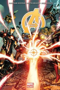 The Avengers (vol.5) T2 : Le dernier instant blanc (0), comics chez Panini Comics de Spencer, Hickman, Deodato Jr, Weaver, Martin jr, Ponsor