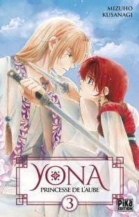 Yona, princesse de l'aube  T3, manga chez Pika de Mizuho