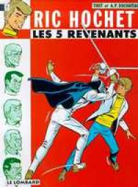 Ric Hochet T10 : Les 5 revenants (0), bd chez Le Lombard de Duchateau, Tibet
