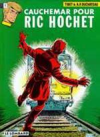 Ric Hochet T13 : Cauchemar pour Ric Hochet (0), bd chez Le Lombard de Duchateau, Tibet