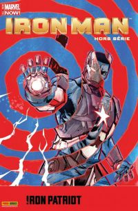 Iron Man (revue) T5 : Iron Patriot - Incassable, comics chez Panini Comics de Kot, Brown, Charalampidis, Perkins