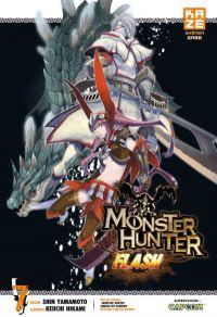 Monster hunter flash T7, manga chez Kazé manga de Yamamoto, Hikami