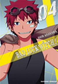 Bad luck witch T4, manga chez Tonkam de Arakawa